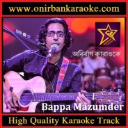 Brishti Pore Karaoke By Bappa Mazumder (Live-Studio-Session) (Mp4)