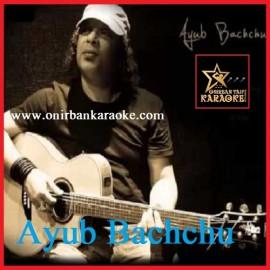 Sukheri Prithibi By Ayub Bachchu (Karaoke_Mp4)