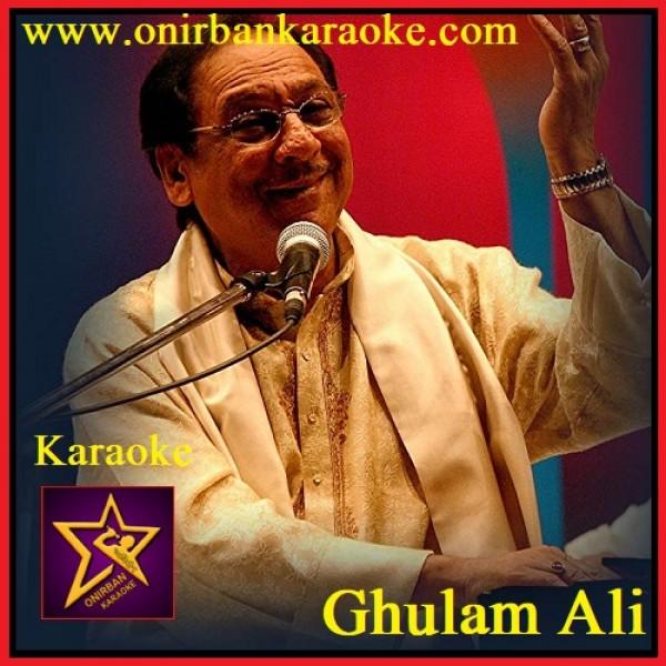 Yeh Dil Ye Pagal Dil Mera Karaoke (Awargi) (Shaam-E-Ghazal) By Ghulam Ali