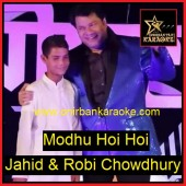 Modhu Hoi Hoi By Jahid & Robi Chowdhury (Version-Ityadi) (Karaoke_Mp4)
