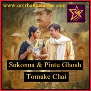 Tomake Chai Karaoke (Fagun Haway) By Sukonna & Pintu Ghosh (Mp4)