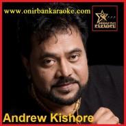 Amra Dujon Chiro Sathi Karaoke By Andrew Kishore (Mp4)