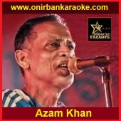 Jibone Moron Keno Ashe Karaoke By Azam Khan (Bangla_Mp4)