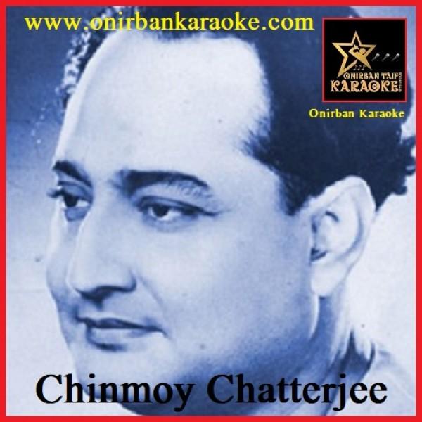 Tumi Jeo Na Ekhoni Karaoke By Chinmoy Chatterjee (Bangla_Mp4)