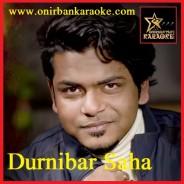 Kolahol Toh Baron Holo By Durnibar Saha (RS) (Karaoke_Mp4)