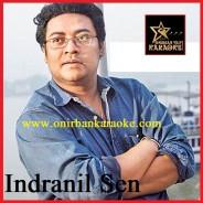 Akash Dake Aj Amay Karaoke By Indranil Sen (Mp4)