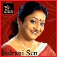 Aj Abar Sei Pothe Dekha Hoye Gelo By Indrani Sen (Karaoke_Mp4)