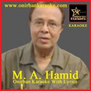 Aha Ekti Meye Ami Dekhechhi Sedin By M.A. Hamid (Karaoke_Mp4)