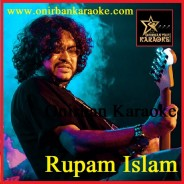 Beche Thakar Gaan Karaoke By Rupam Islam (Bangla_Mp4)