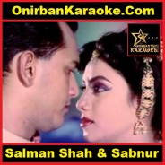 Amar Jonmo Tomar Jonno By Agun & Samina Chowdhury (Karaoke-Mp4)