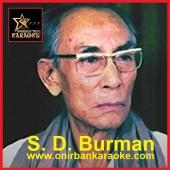 Bashi Shune Ar Kaj Nai Karaoke By SD Burman (Mp4)