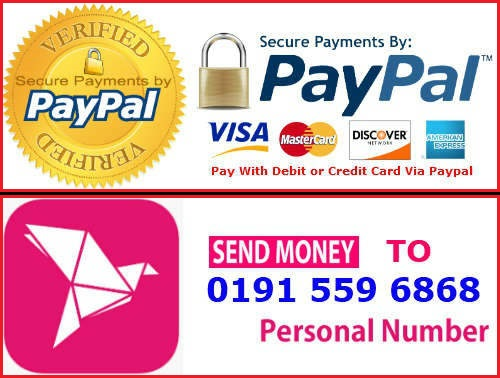 Pay With Paypal & Debit or Credit Card