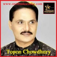 Shagor Bela Eley By Topon Chowdhury (Karaoke_Mp4)